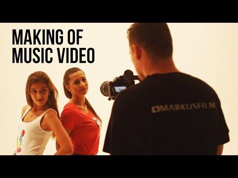 Natáčení hudebního klipu (making of)