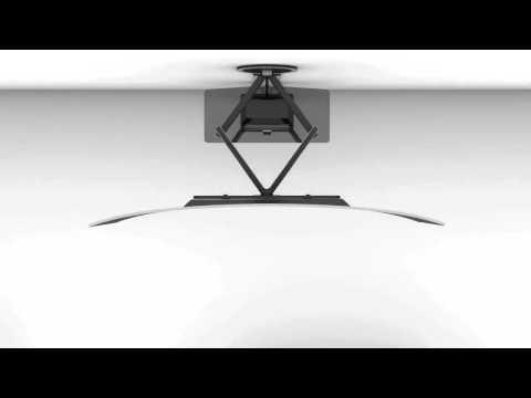 Vogel's TV Wandhalterungen für Curved Fernseher