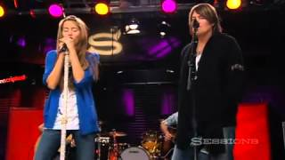 ♫ Miley Cyrus and Billy Ray Cyrus - Butterfly Fly Away (LIVE AOL Sessions HQ)  ♫