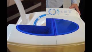 Стиральная машина полуавтомат Славда/Renova/EVGO WS-70PET от компании F-Mart - видео