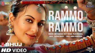 Rammo Rammo Song  Bhuj: The Pride Of India   Sonakshi S   Udit N,Neeti M, Palak M,Tanishk B, Manoj M