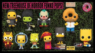 NEW Treehouse Of Horror Simpsons FUNKO POP Line!