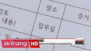 Constitutional Court demands more details on Pres. Park