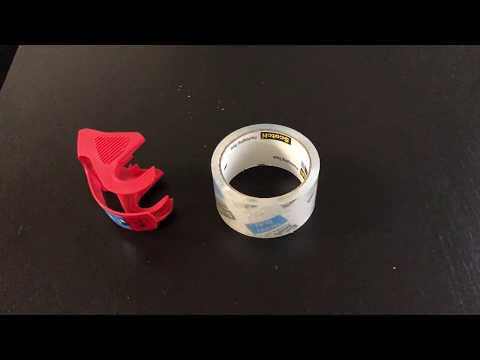 HOW TO REPLACE SCOTCH TAPE DISPENSER PACKAGING TAPE CHANGE//THE RIGHT WAY!!!