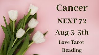 Cancer 💖~ Ex Is Obsessed & Regrets Treating You Like An Option!!~ August 3-5th