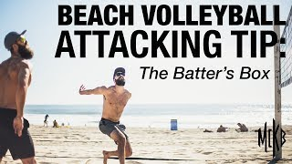 Beach Volleyball Attacking Tip - The Batter's Box