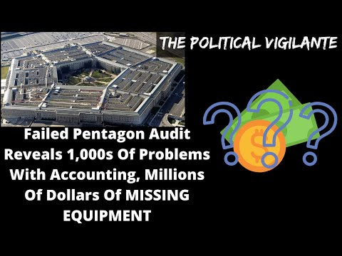 Pentagon Fails Another Audit While Americans Starve