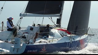 AYC Double Handed Distance Race Onboard The Jeanneau 3300