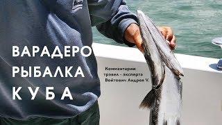 Рыбалка на кубе с берега