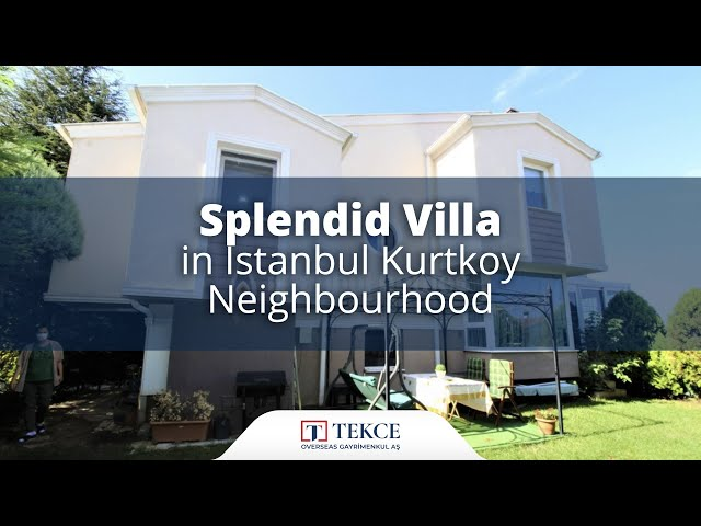 Luxury House Close to the Aydos Forest in Istanbul Kurtkoy