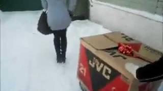 Поздравили подругу с Днем Рождения))