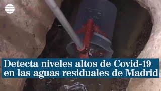 Sanidad detecta altos niveles de Coronavirus en aguas residuales de 28 puntos de Madrid