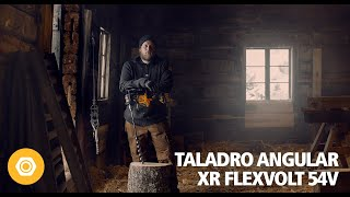 DEWALT Taladro Angular sin escobillas XR FLEXVOLT 54V anuncio