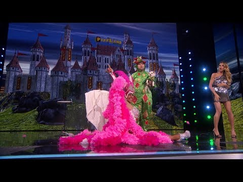 America's Got Talent 2017 Piff The Magic Dragon Quarter-Finals Results S12E18 (видео)