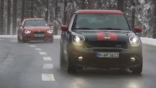 [Autocar] Mini Paceman JCW vs BMW M135i