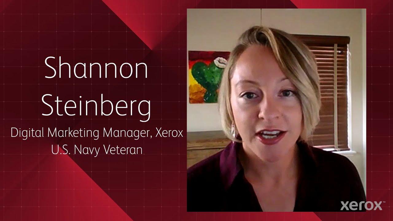 Xerox: Honoring Our Veterans YouTube Video