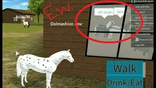 Nasty Horses In Roblox Horse World