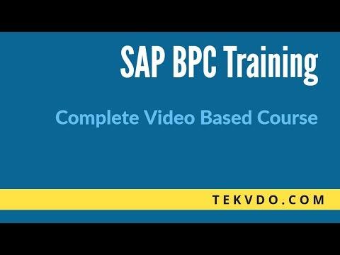 Complete video based SAP BPC Training - YouTube