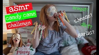 ASMR Candy Cane Challenge!