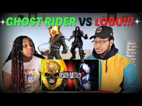 "Death Battle! ""Ghost Rider VS Lobo (Marvel VS DC)"" REACTION!!!"