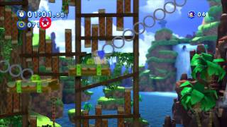 Sonic Generations Green Hill Zone Act 1 - Classic Sonic
