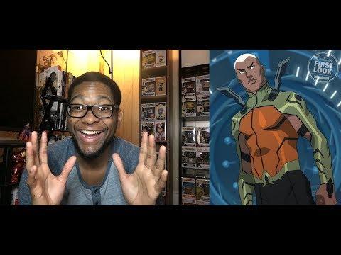 Young Justice: Kaldur is Aquaman! Reaction
