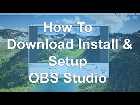How to download and instal OBS studio 32bit for free version