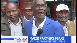 North Rift Farmers express fears over maize imports, NCPB closed doors to maize purchases