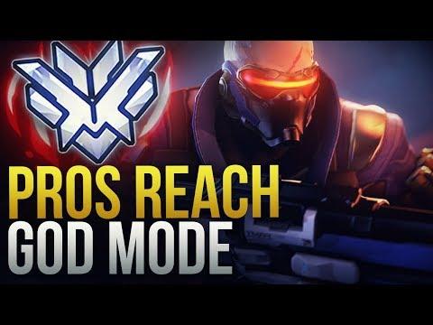 WHEN PROS REACH GOD MODE  - Overwatch Montage