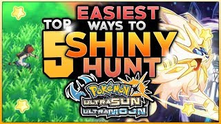 Download Youtube: Top 5 Easiest Ways To Hunt Shiny Pokemon In Pokemon Ultra Sun And Ultra Moon