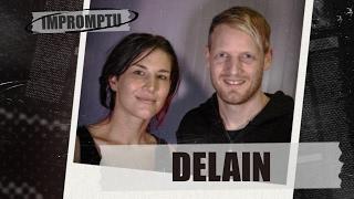 Banda de metal Delain. Improviso