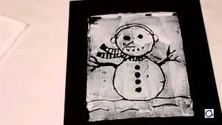Imprimer des dessins de bonhomme de neige