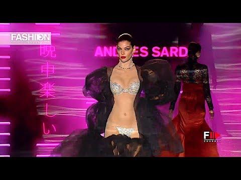 ANDRES SARDA MBFW Fall 2018 2019 Madrid - Fashion Channel