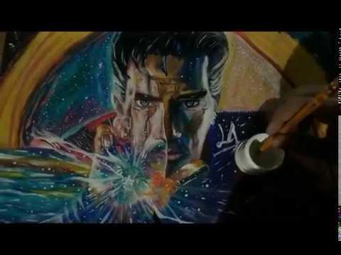 Doctor Strange dibujo / Draw (Benedict Cumberbatch) Doctor Strange