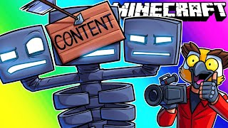 Minecraft Funny Moments - Fighting the Wither Boss!
