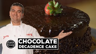 Chocolate Decadence Cake By The Cake Boss   Fast Cakes Ep01