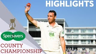 Record Breaking Kyle Abbott Takes 17-86 | Hampshire v Somerset | Specsavers County Championship 2019