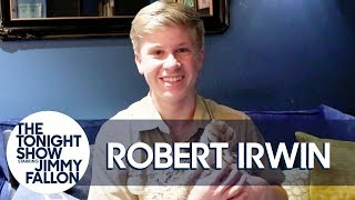 Robert Irwin's Baby Ostrich Sounds Like a Dinosaur