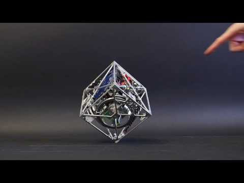 The Cubli: a cube that can jump up, balance, and 'walk'
