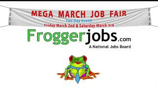 Mega March Job Fair - Akron, Ohio - Job Seekers Commercial