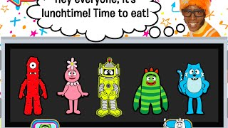 Yo Gabba Gabba! Party in My Tummy Part | App for Toddlers