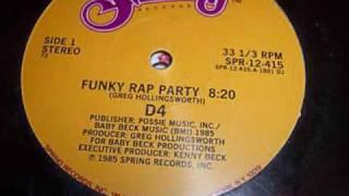 D4 - Funky Rap Party