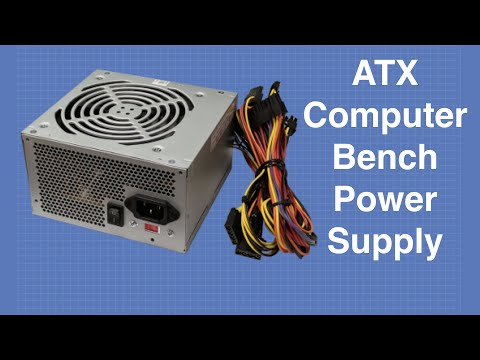 Convert an ATX computer supply to a bench power supply