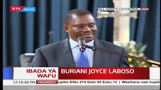 LABOSO FAREWELL: Speaker Muturi reveals Joyce Laboso's mastermind during 2014 House chaos