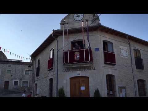 Pregón Hermes Calabria (Barón Rojo) en Valdeande (Burgos)