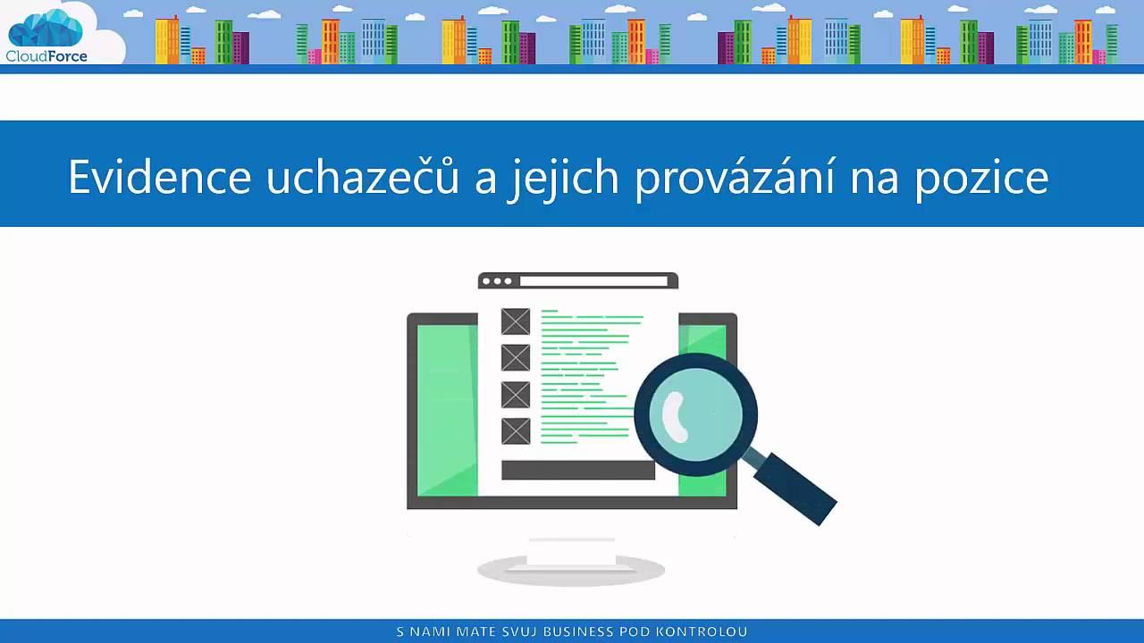 Ukázka aplikace pro pracovní a personální agentury