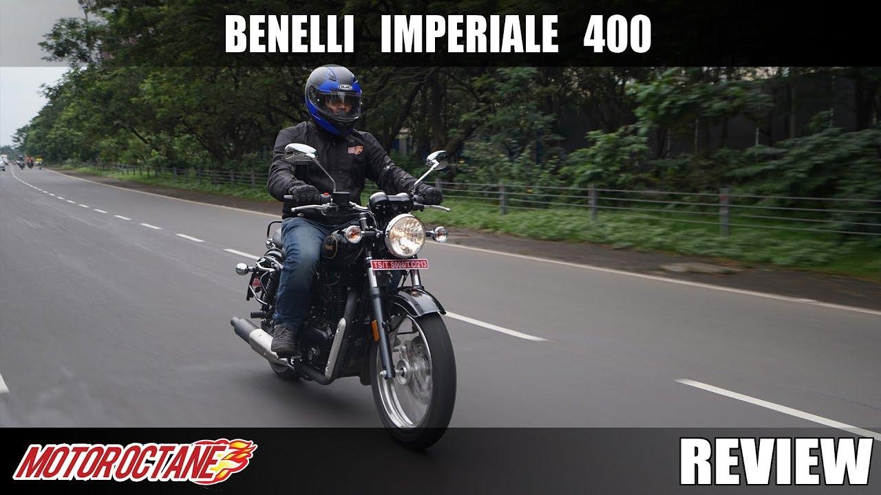 Motoroctane Youtube Video - Benelli Imperiale 400 Review   Hindi   MotorOctane