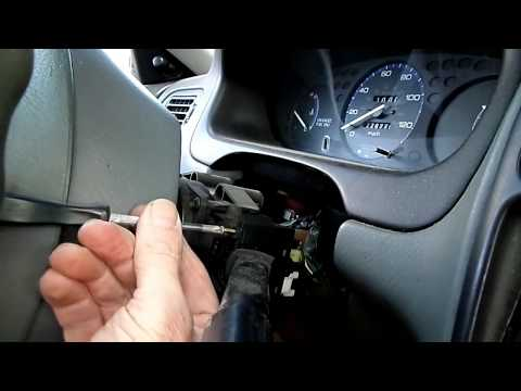 Honda Civic Multifunction Switch Removal