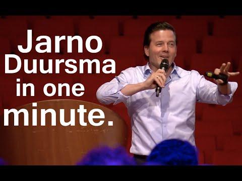 Jarno Duursma in 1 minute. Trendwatcher Keynote Speaker