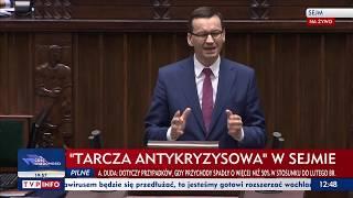 Premier Morawiecki: Dla nas najważniejsi są Polacy